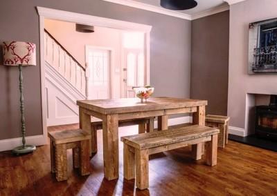 میز و کنسول چوبی کلاسیک و روستیک  (13)