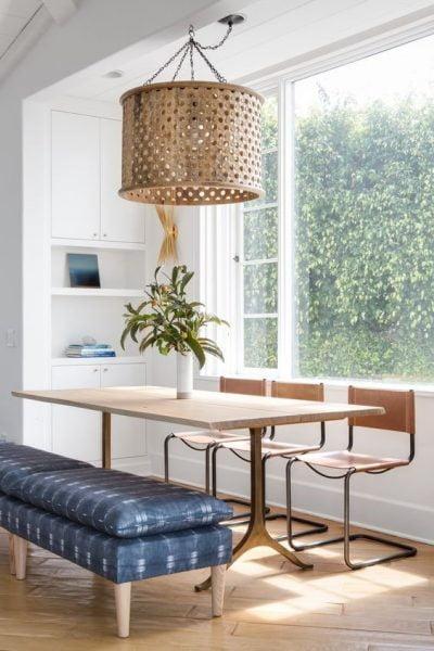 میز چوبی براق