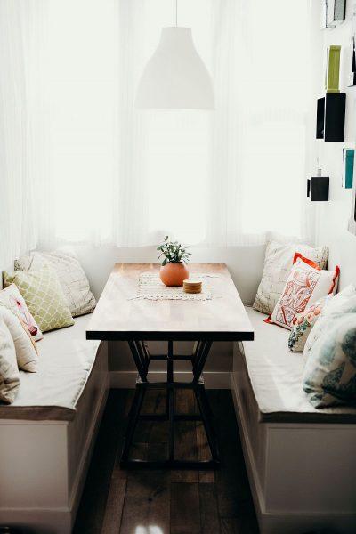میز چوبی مستطیل