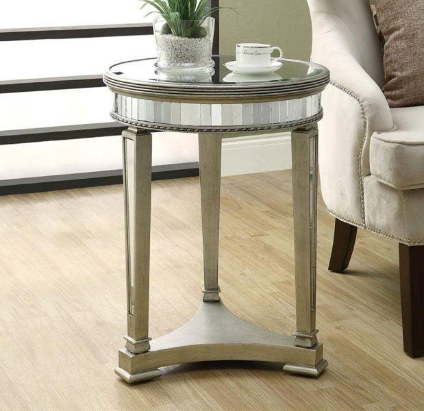 میز چوبی های گلس