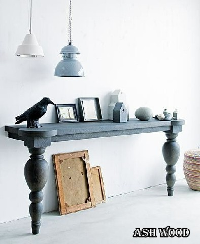 25 میز زیبا و عجیب برای فضاهای کوچک, میز کنسول دیواری