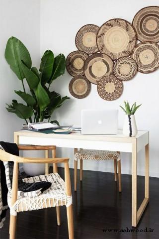 25 ایده شاد دکوراسیون گرمسیری برای منزل و دفتر کار