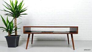 میز جلو مبلی چوبی جدید