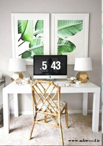 میز چوبی سبک گرمسیری , دکوراسیون چوبی منزل