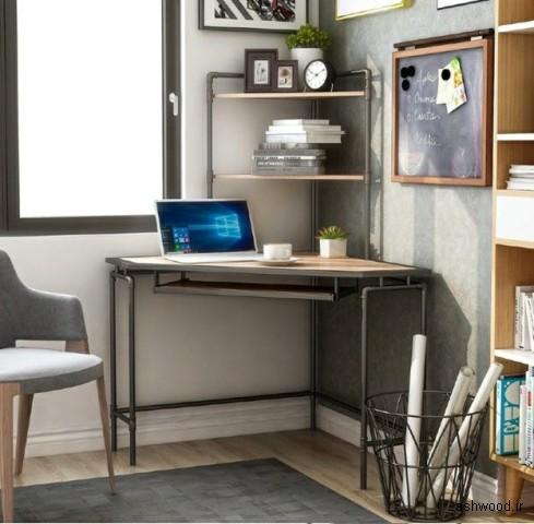 میز های چوبی جالب و کوچک