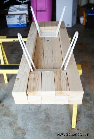 آموزش ساخت میز چوبی ساده