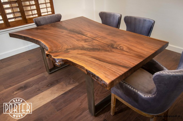 میز چوب گردو , مبلمان چوبی گردو