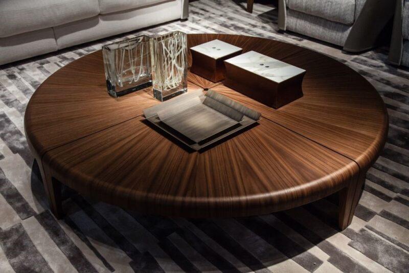 میز چوب گردو