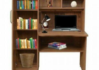 میز کار , میز تحریر چوبی , میز کتابخانه دار
