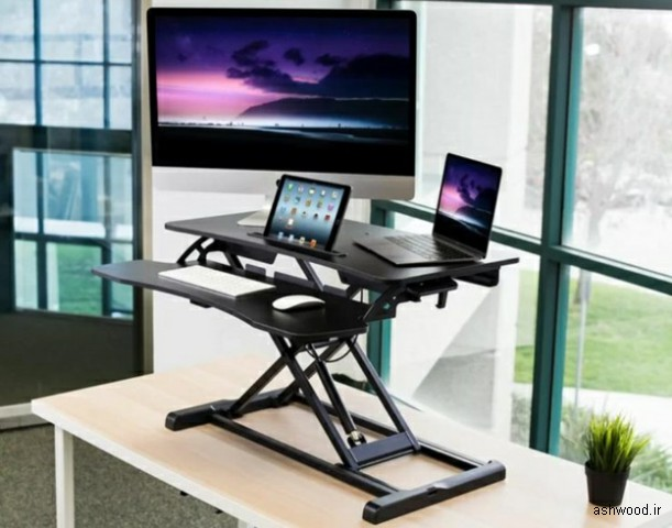 میز چوبی کامپیوتر