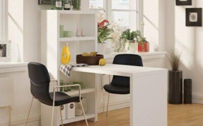 20 میز ناهار خوری که در فضا های کوچک عالی عمل می کند.