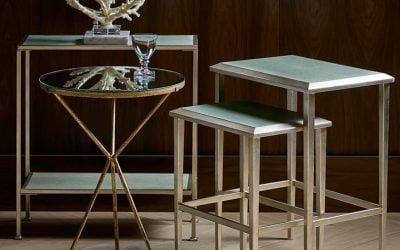 روش های خلاقانه استفاده از میز کناری در اتاق نشیمن