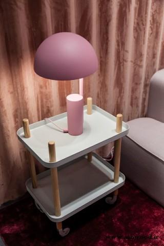 میز کنار مبل سینی , ایده و مدل میز چوبی
