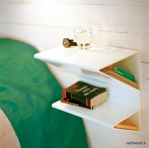 میز کنار تخت و مبل , میز کوچک , میز چوبی