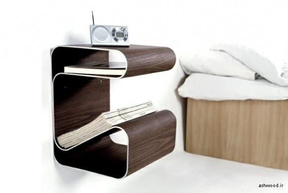 میز کنار تخت و مبل , میز کوچک