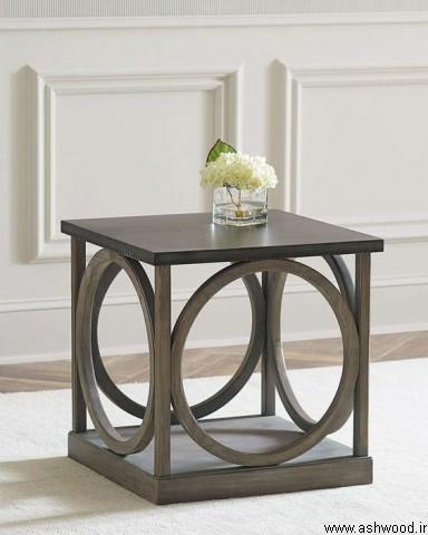 میز چهار گوش پذیرایی , میز کنار مبلی