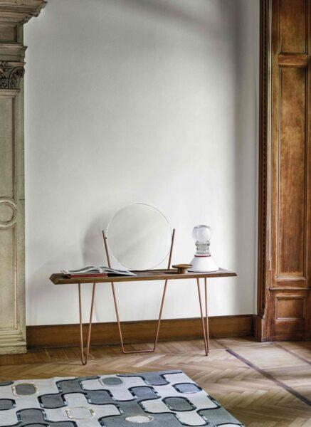 میز کنسول چوبی کوچک و ظریف