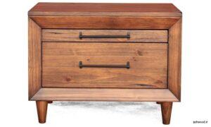 ایده میز کنسول چوبی دراور و میز چوبی