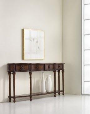 میز کنسول , دکوراسیون چوبی داخلی