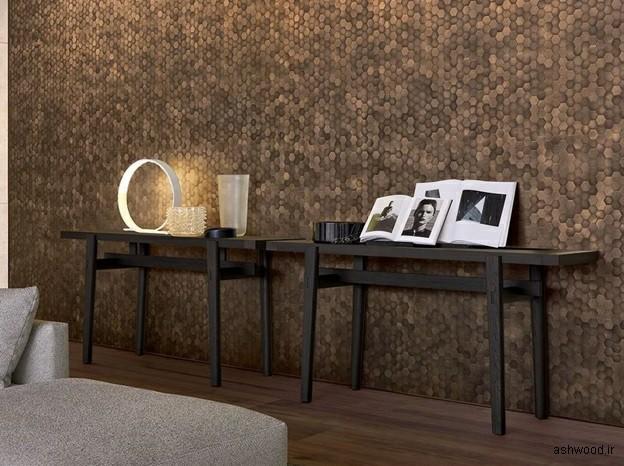 ایده و مدل های میز کنسول چوبی مدرن