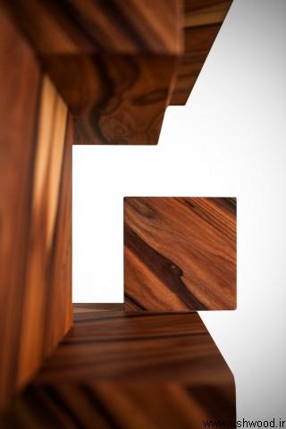 میز کنسول ساخته شده از چوب پلی ساندر رزوود برزیلی