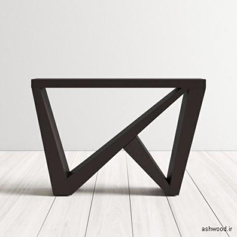 ایده های جالب میز کنسول چوبی
