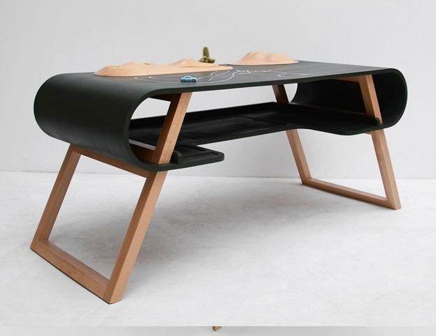 طراحی کاربردی و مدرن میز کار برای فضاهای اداری , میز تحریر