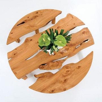 صفحه میز چوب و رزین
