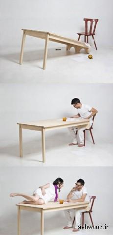 میز های جالب و عجیب و غریب