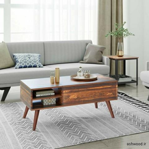 میزهای جلو مبلی باریک و جذاب برای خانه شما