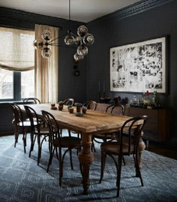 ایده و مدل جالب میز ناهارخوری چوبی