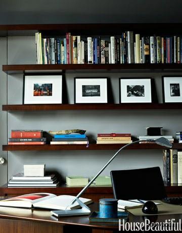 میز کار در طراحی دفتر خانگی