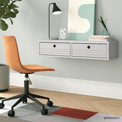میز کم جا چوبی