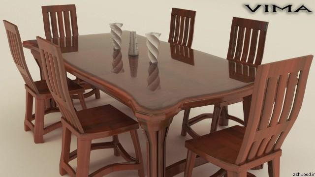 تصاویر مدل میز ناهارخوری 6 نفره
