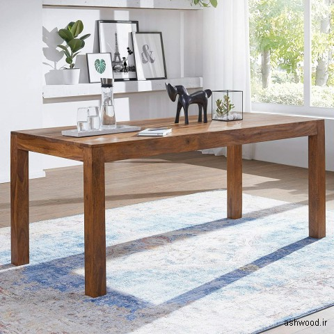 انواع مدل میز چوبی , ایده های جالب میز