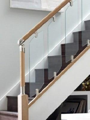 نرده چوبی , هندریل و دست انداز پله