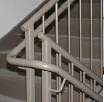 نرده راه پله فلزی پیکتی
