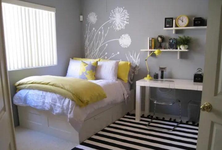 نقاشی اتاق خواب نوجوان