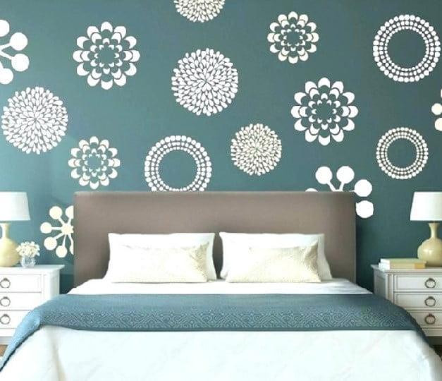 نقاشی دیواری برای اتاق خواب