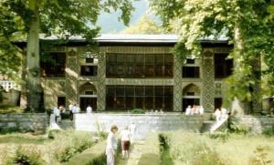 عکس نمای از کاخ شکی خان