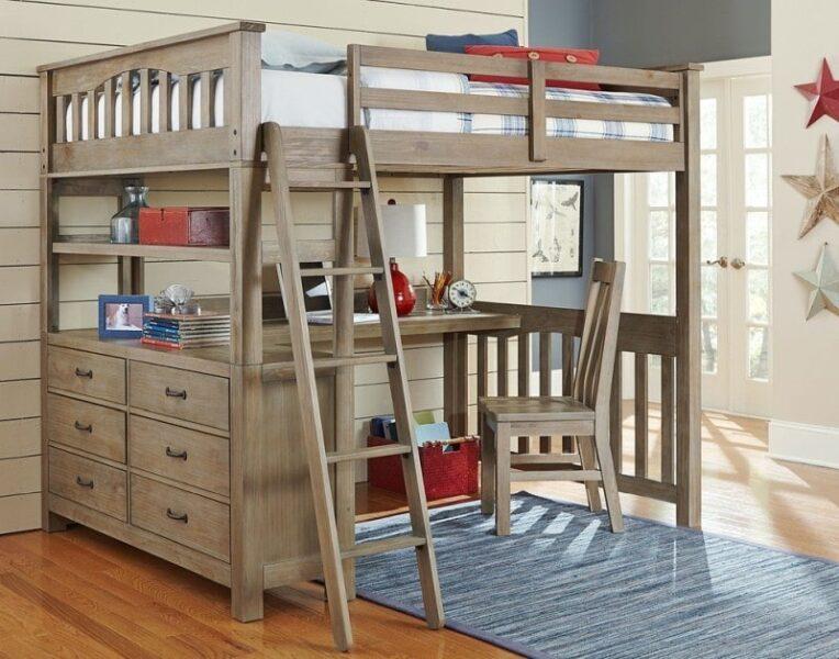 نمونه ای از تخت خواب دو طبقه