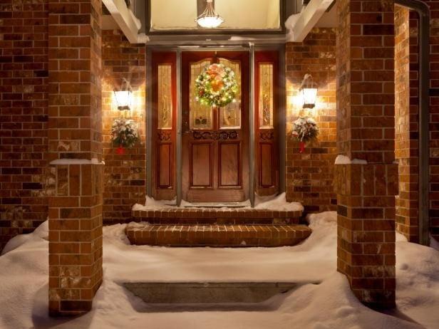 نمونه ای از درب های چوبی