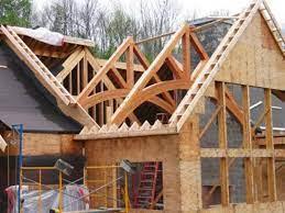 نمونه ای از ساختمان های چوبی