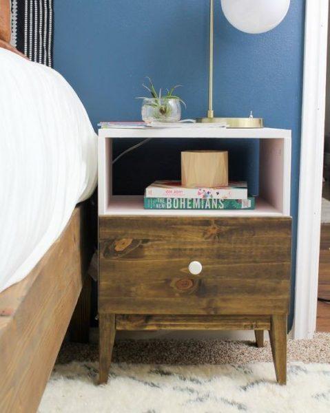 نمونه ای از کمدهای کنار تخت
