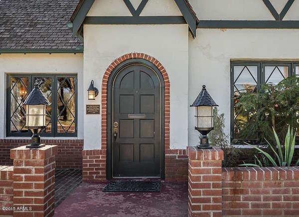 نمونه درب جلو منزل تک قوس