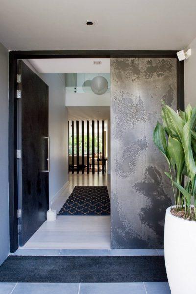 نمونه درب ورودی منزل