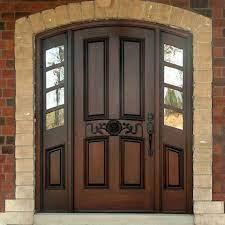 نمونه درب چوبی زیبا