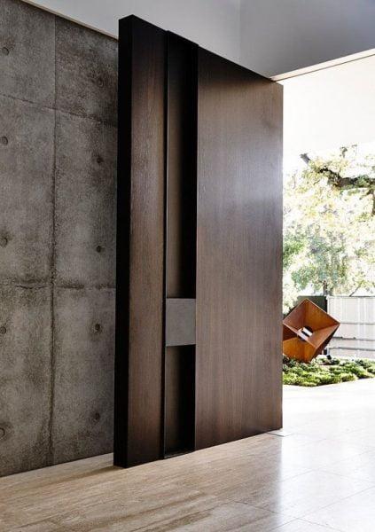 نمونه درب چوبی