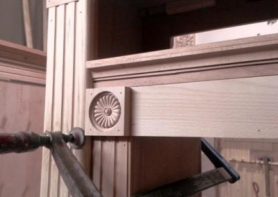 نمونه دکوراسیون کلاسیک , سنتی چوبی فن و هنر  01