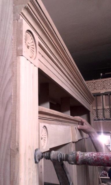 نمونه دکوراسیون کلاسیک , سنتی چوبی فن و هنر  02